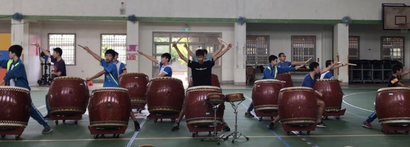 戰鼓賽前訓練